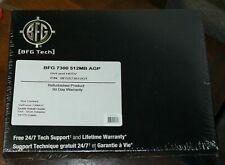 BFG Tech GeForce 7300 GT AGP 4X/8X Graphics Card (BFGS73512GT, 512MB, DX9)