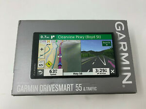 Garmin DriveSmart 55 5.5 inch GPS Navigator - Black A5