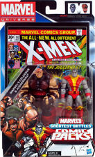"Marvel Universe COLOSSUS and JUGGERNAUT 5"" Action Figure 2-pack & #102 Comic"