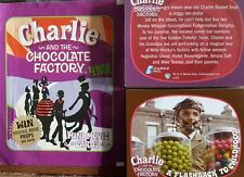 CHARLIE AND THE CHOCOLATE FACTORY MINI MOVIE CARDS FULL SET X72