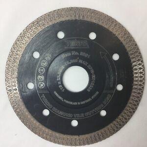 PORCELAIN TILE TURBO THIN DIAMOND DRY CUTTING BLADE /DISC 115 / 125mm GRINDER