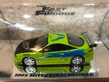 1:64 Racing Champions Fast Furious 95 DSM Eclipse Paul Walker MUSEUM COLLECTION