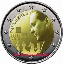 Estonia   2  euro   2016 Keres  FDC