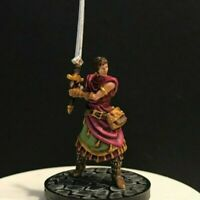 Gale Force 9  Force Gray 28mm Painted Jamilah Barbarian Fighter D&D Miniature