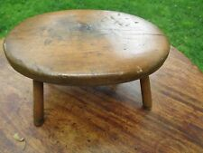 Antique Early American Windsor Maple Foot Stool