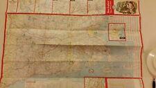 1964 Esso Humble Road Map,New England,Boston,