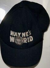 Wayne's World Hat Snapback Black Trucker Cap
