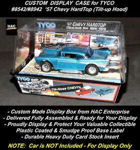 Custom Display Case: TYCO '57 CHEVY HardTop (Tilt-Nose) #8542 / #8942