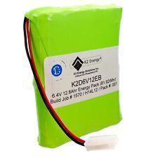 K2 ENERGY K2D6V12EB - 6.4V 12.8AH SOFT PACK LITHIUM-IRON PHOSPHATE BATTERY