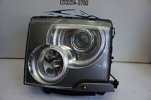 tested 2003 2005 LAND ROVER RANGE ROVER L322 LEFT XENON HID HEADLIGHT OEM 2004