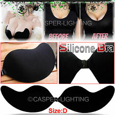 Silicone Gel Invisible Bras Self-adhesive Stick On Push Up Straples Backless Bra