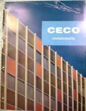 CECO Steel Products Corp Catalog Cement ASBESTOS Curtain Walls Panels 1960's