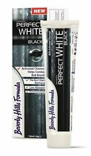 Beverly Hills Perfect White BLACK Charcoal Toothpaste Stains Breath L Size 130g