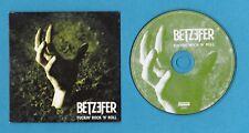 BETZEFER Fuckin' Rock 'n' Roll / Down Low CARDBOARD SLEEVE PROMO CD groove metal