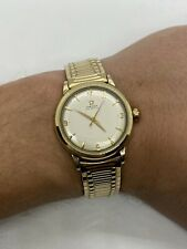 Vintage Early Omega Seamaster Gold Men's Bumper Automatic Watch C. 354 ref. 2577