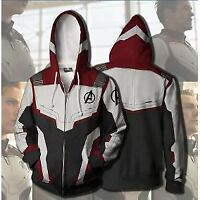 NEW hoodies of Marvel The Avengers 4 Endgame Quantum Realm