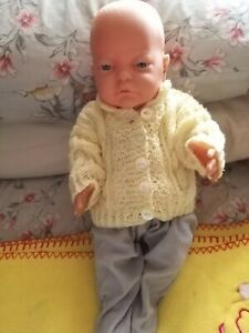 "16"" Vinyl Peterkin Dressed Baby Boy Doll, Anatomically Correct, Realistic,"