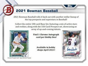 2021 Bowman | 1 Hobby Box | 2 Random Teams | #W9