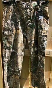 NEW Mens Cargo Pants REALTREE Scentlok Prevent Camo 2XL XXL Hunting Pants