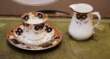 Windsor China Porcelain Milk Jug and Cup, saucer and side plate c 1920