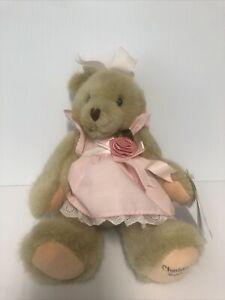 "Dakin CHERISHED TEDDIES Child of Love Plush Teddy Bear Jointed 12"" EUC 1994"