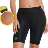 Women Gym Thermo Neoprene Sweat Sauna Body Shaper Pants Weight Loss Slim Shorts