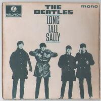 "THE BEATLES LONG TALL SALLY RARE ISRAEL ISRAELI PS 7"" 45 EP Yellow Parlophone"