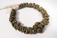 Alte Bronze Messingperlen Igbo Bugs Old brass beads Africa trade Afrozip