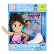 Plush Girl Doll Clothing & matching book series accessories Sports Gymnastics- S