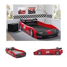 Kids Bed Twin Car Toddler Bedroom Furniture Race Boy Children Turbo Delta USA