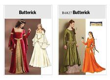 Butterick Schnittmuster Damen History Kleid B4827, B4571