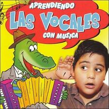 FREE US SHIP. on ANY 2 CDs! NEW CD Various Artists: Aprendiendo Las Vocales Con