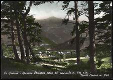 cartolina LA SANTONA stazione climatica estiva ed invernale-monte cimone