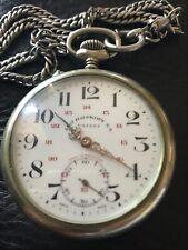 Antique Louis Roskopf Patent Open Face Pocket Watch 1906