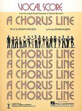 Chorus Line A Vocal Score Book NEW 000383311