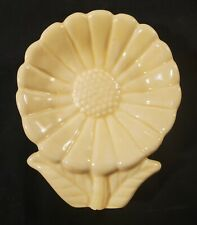 VNTG Solid Yellow Sunflower Spoon Rest (Cardinal?) (W17)