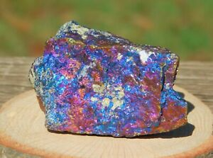Peacock Ore Bornite with Rainbow Iridescence 118g to Cleanse and Balance Energy
