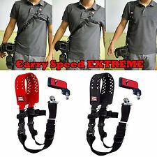 Carry Speed XTREME EXTREME DSLR Camera Sling Shoulder Strap w/ F-2 plate Black