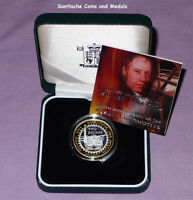 2004 ROYAL MINT SILVER PROOF £2 COIN - Trevithick's Steam Locomotive Engine
