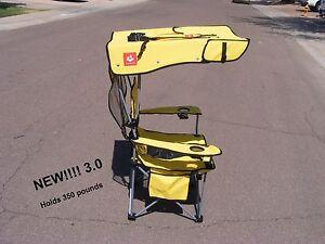 NEW STYLE, Renetto 3.0 YELLOW, HEAVY DUTY,  Original Canopy Chair, mesh insert