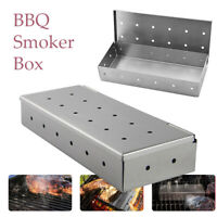 1Pcs Stainless Steel BBQ Smoker Cold Smoke Barbecue Stainless Steel Smoke Box