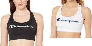 Champion Women's The Absolute Workout Sports Bra, Script Logo S, L
