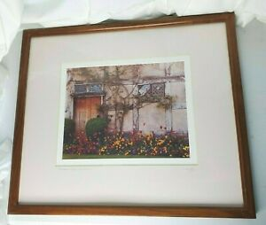Alan Klug Shakespeare's House Photograph Stratford Signed Limited #233 / 300