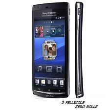 5 Pellicola per Sony Ericsson Xperia Arc Protettiva Pellicole DISPLAY X12