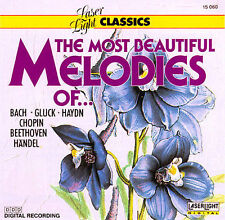 The Most Beautiful Melodies Of... by Various Artists (CD, Laserlight)