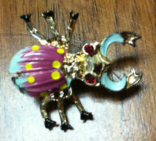"Scarab Bug Pin - 1.5"""
