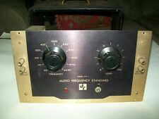 VG! VNTG 1950s RARE D&R Audio Frequency Standard Model FS-1 w/Tubes - Works!!!