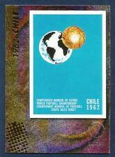 PANINI WORLD CUP 2002- #010-1962:CHILE