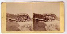 photo stéréo SIEGE DE PARIS 1871 / stéréoview french war