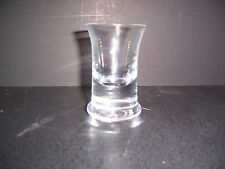 VG Norwegian News Paper Commemorative Extra Wide Shot Liquer Cordial Glass